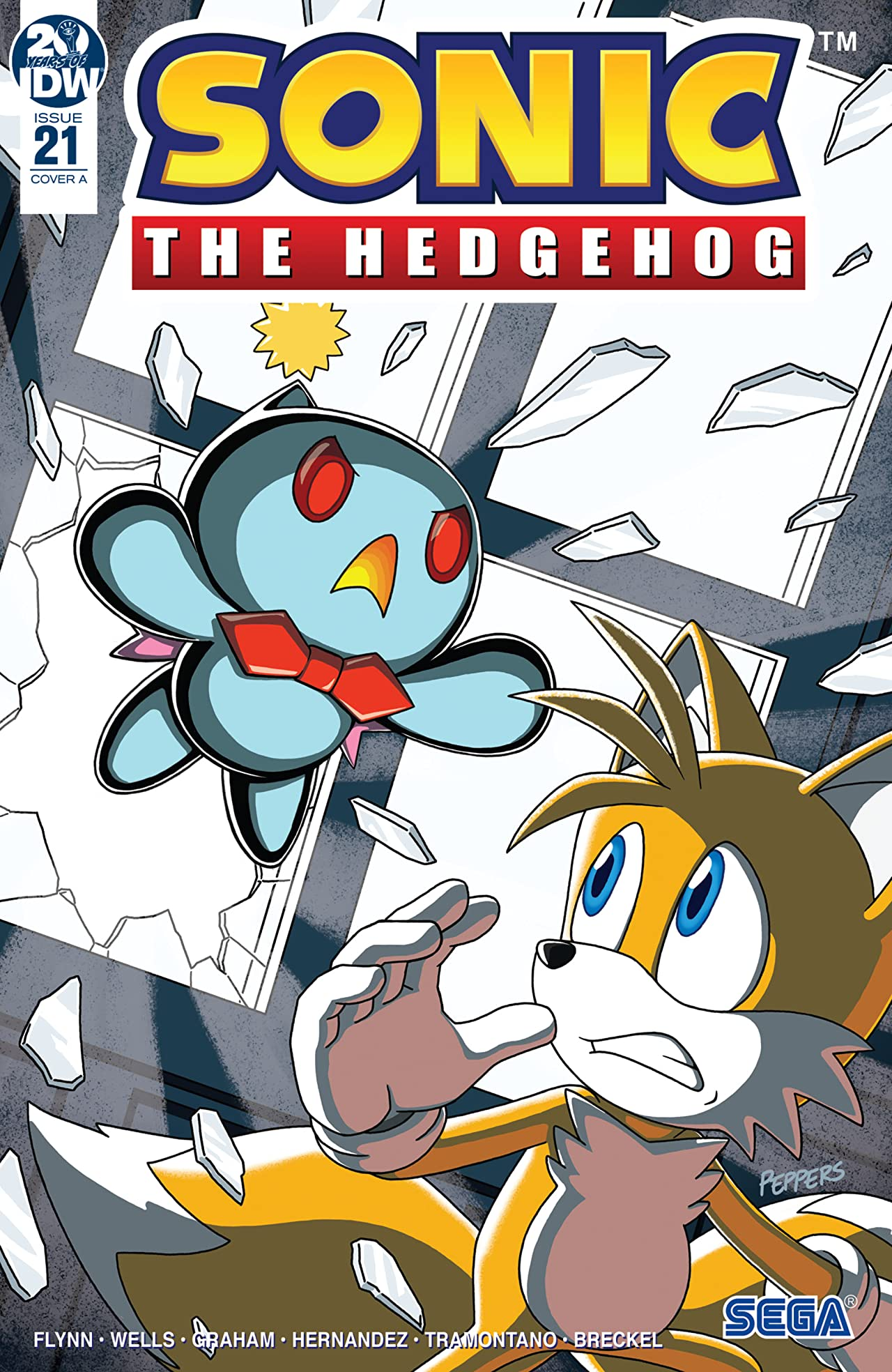 Sonic The Hedgehog (2018-) No.21