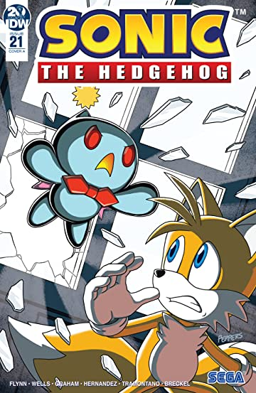 Sonic The Hedgehog (2018-) #21