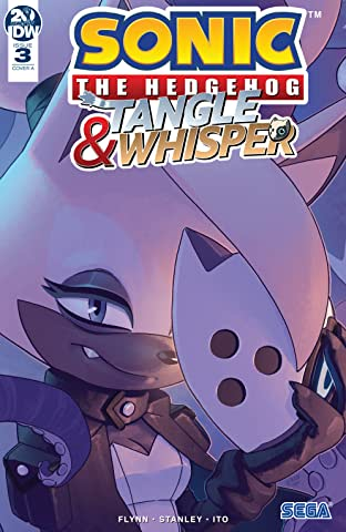 Sonic the Hedgehog: Tangle & Whisper No.3