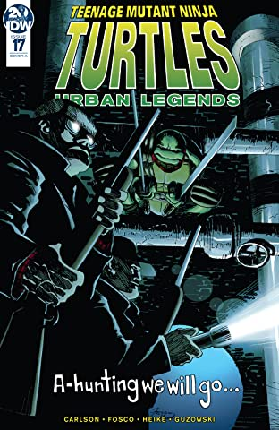 Teenage Mutant Ninja Turtles: Urban Legends No.17