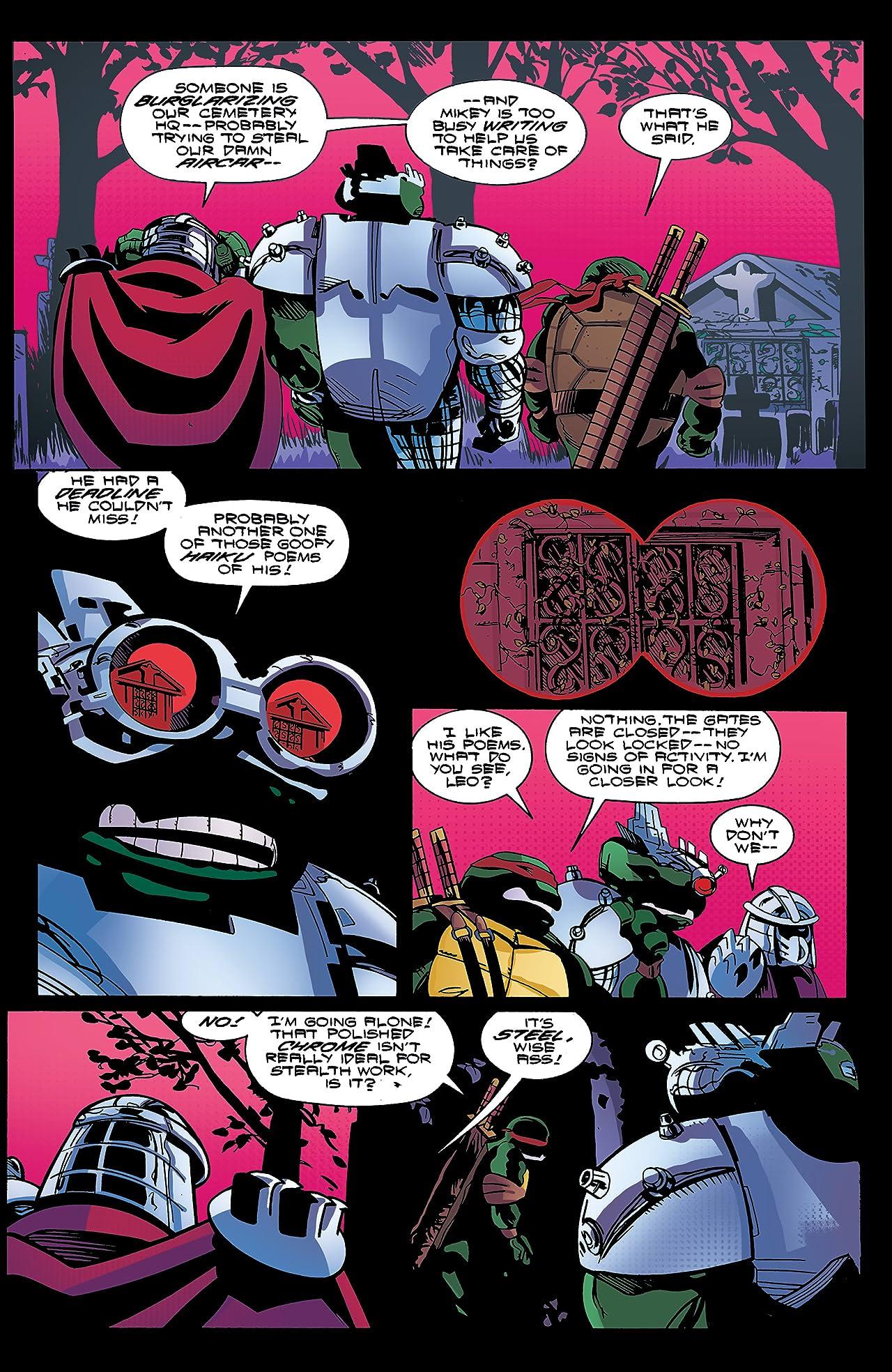 Teenage Mutant Ninja Turtles: Urban Legends #17