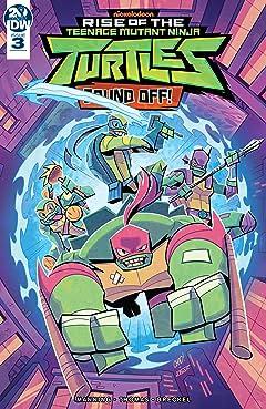 Teenage Mutant Ninja Turtles: Rise of the TMNT: Sound Off! No.3 (sur 3)