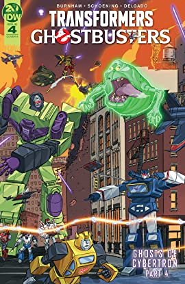 Transformers/Ghostbusters #4