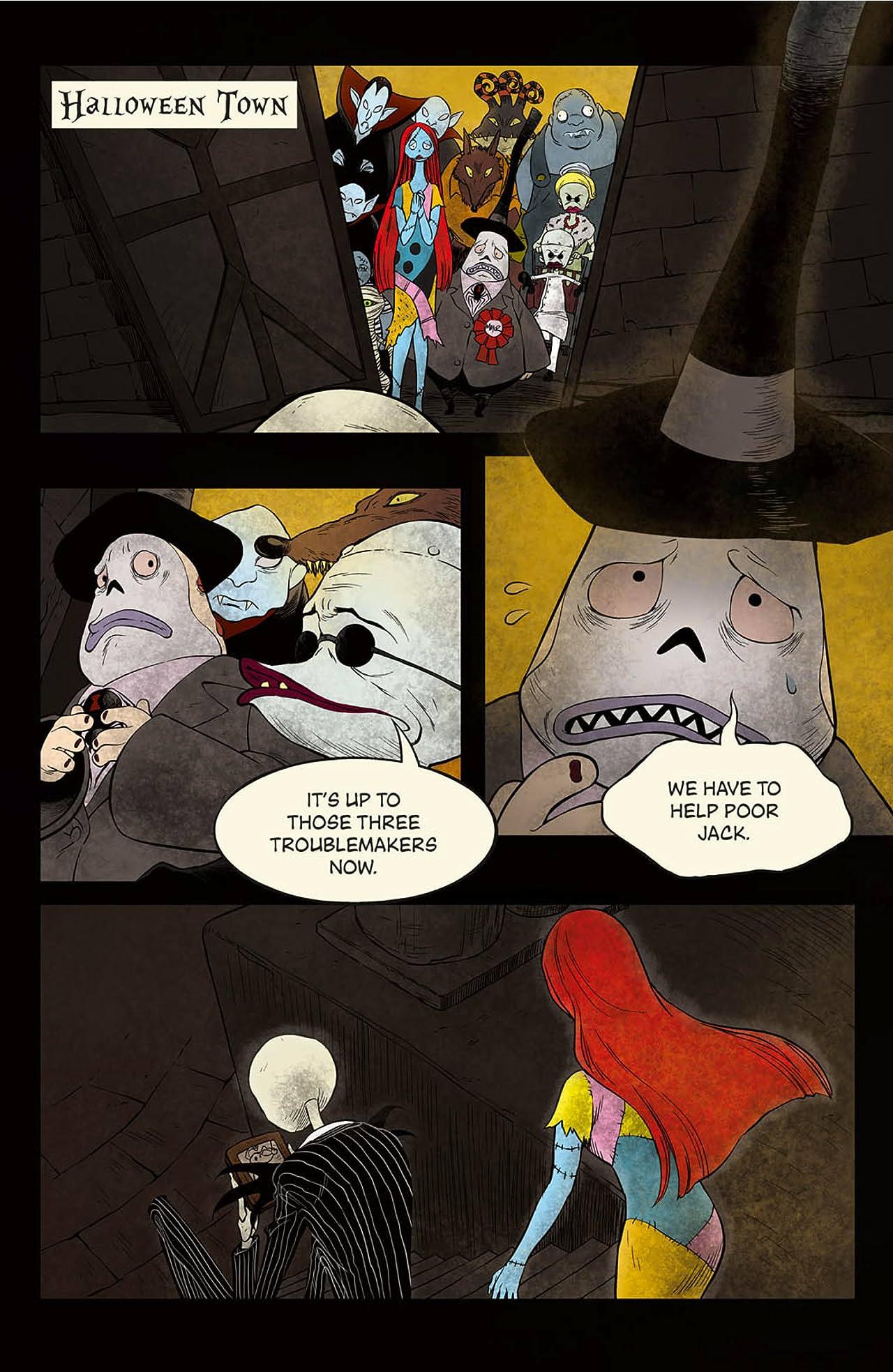 Disney Manga: Tim Burton's The Nightmare Before Christmas: Zero's Journey Issue Vol. 10