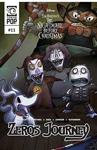 Disney Manga: Tim Burton's The Nightmare Before Christmas: Zero's Journey Vol. 11