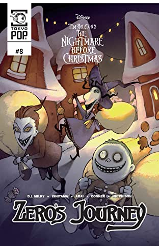 Disney Manga: Tim Burton's The Nightmare Before Christmas -- Zero's Journey Vol. 8