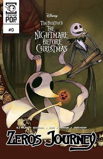 Disney Manga: Tim Burton's The Nightmare Before Christmas -- Zero's Journey