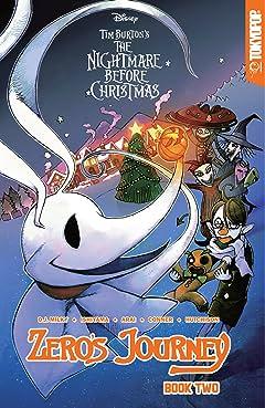 Disney Manga: Tim Burton's The Nightmare Before Christmas -- Zero's Journey Graphic Novel Book 2 Vol. 2