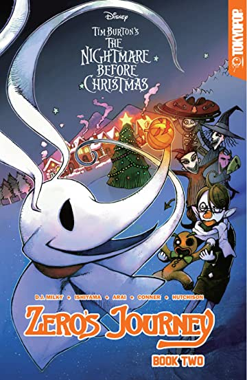 Disney Manga: Tim Burton's The Nightmare Before Christmas -- Zero's Journey Graphic Novel Book 2 Vol. 2