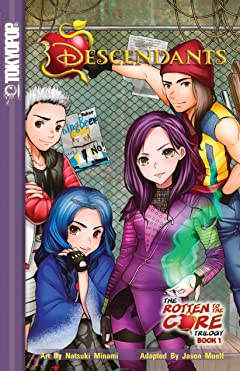 Disney Manga: Descendants - The Rotten to the Core Trilogy Tome 1