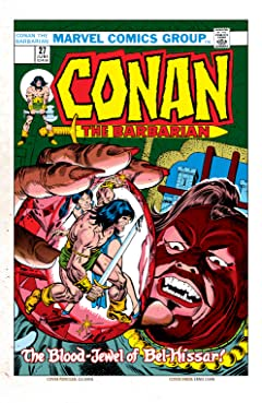 Conan The Barbarian (1970-1993) #27