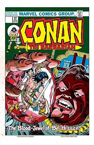 Conan The Barbarian (1970-1993) No.27