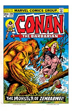 Conan The Barbarian (1970-1993) #28