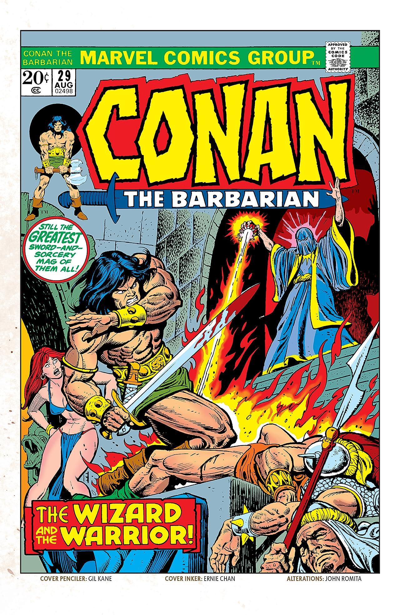 Conan The Barbarian (1970-1993) #29