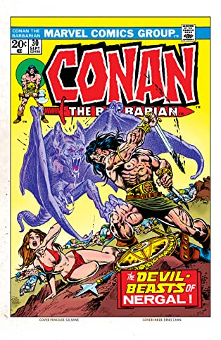 Conan The Barbarian (1970-1993) #30