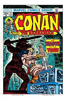 Conan The Barbarian (1970-1993) #31