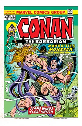 Conan The Barbarian (1970-1993) #32