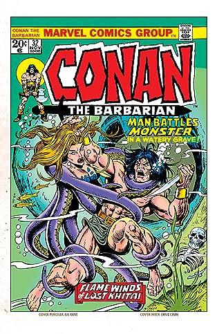 Conan The Barbarian (1970-1993) #32