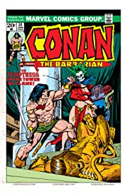 Conan The Barbarian (1970-1993) #34