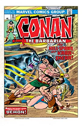 Conan The Barbarian (1970-1993) #35