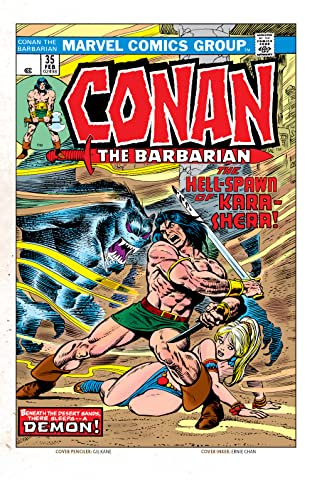 Conan The Barbarian (1970-1993) #35