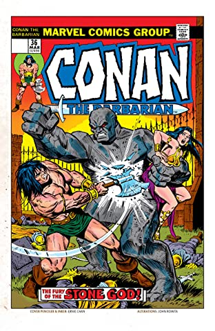 Conan The Barbarian (1970-1993) #36