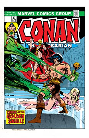 Conan The Barbarian (1970-1993) #37