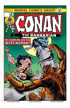 Conan The Barbarian (1970-1993) #38