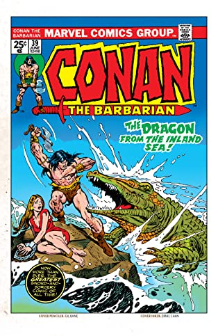 Conan The Barbarian (1970-1993) #39