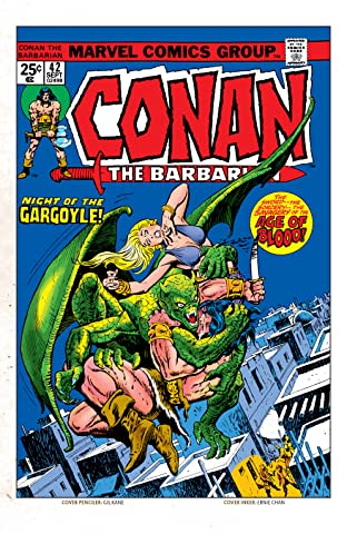 Conan The Barbarian (1970-1993) #42