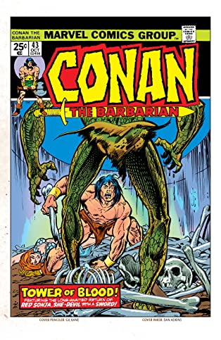 Conan The Barbarian (1970-1993) #43