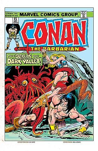Conan The Barbarian (1970-1993) #45