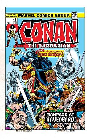 Conan The Barbarian (1970-1993) #48