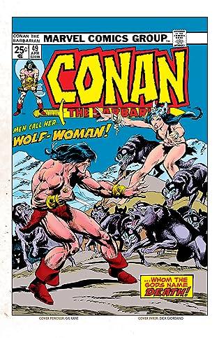 Conan The Barbarian (1970-1993) #49