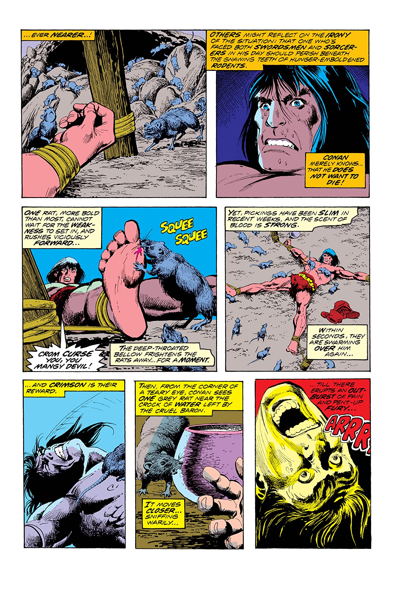 Conan The Barbarian (1970-1993) #49