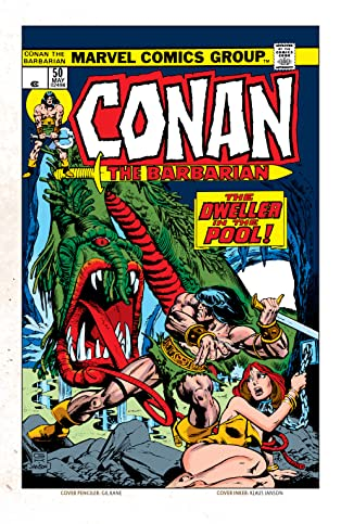 Conan The Barbarian (1970-1993) #50