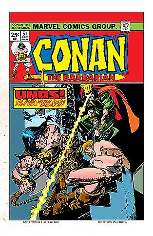Conan The Barbarian (1970-1993) #51