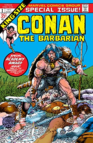 Conan The Barbarian (1970-1993) Annual #1