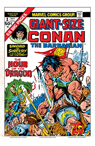 Conan The Barbarian Giant-Size (1974-1975) #1