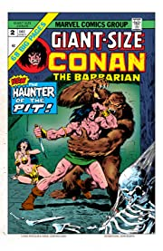 Conan The Barbarian Giant-Size (1974-1975) #2