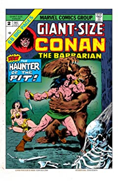 Conan The Barbarian Giant-Size (1974-1975) #2