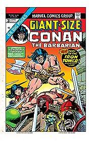 Conan The Barbarian Giant-Size (1974-1975) #3