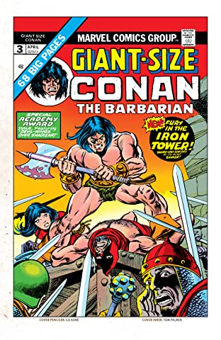 Conan The Barbarian Giant-Size (1974-1975) #3