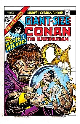 Conan The Barbarian Giant-Size (1974-1975) #4