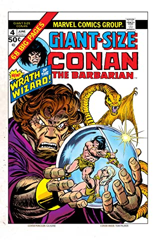 Conan The Barbarian Giant-Size (1974-1975) #4