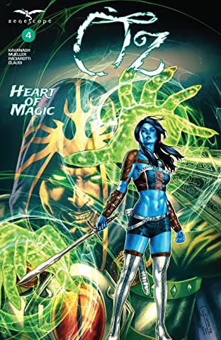 Oz #4: Heart of Magic