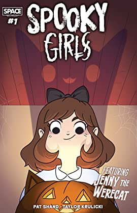 Spooky Girls: Jenny the Werecat #1