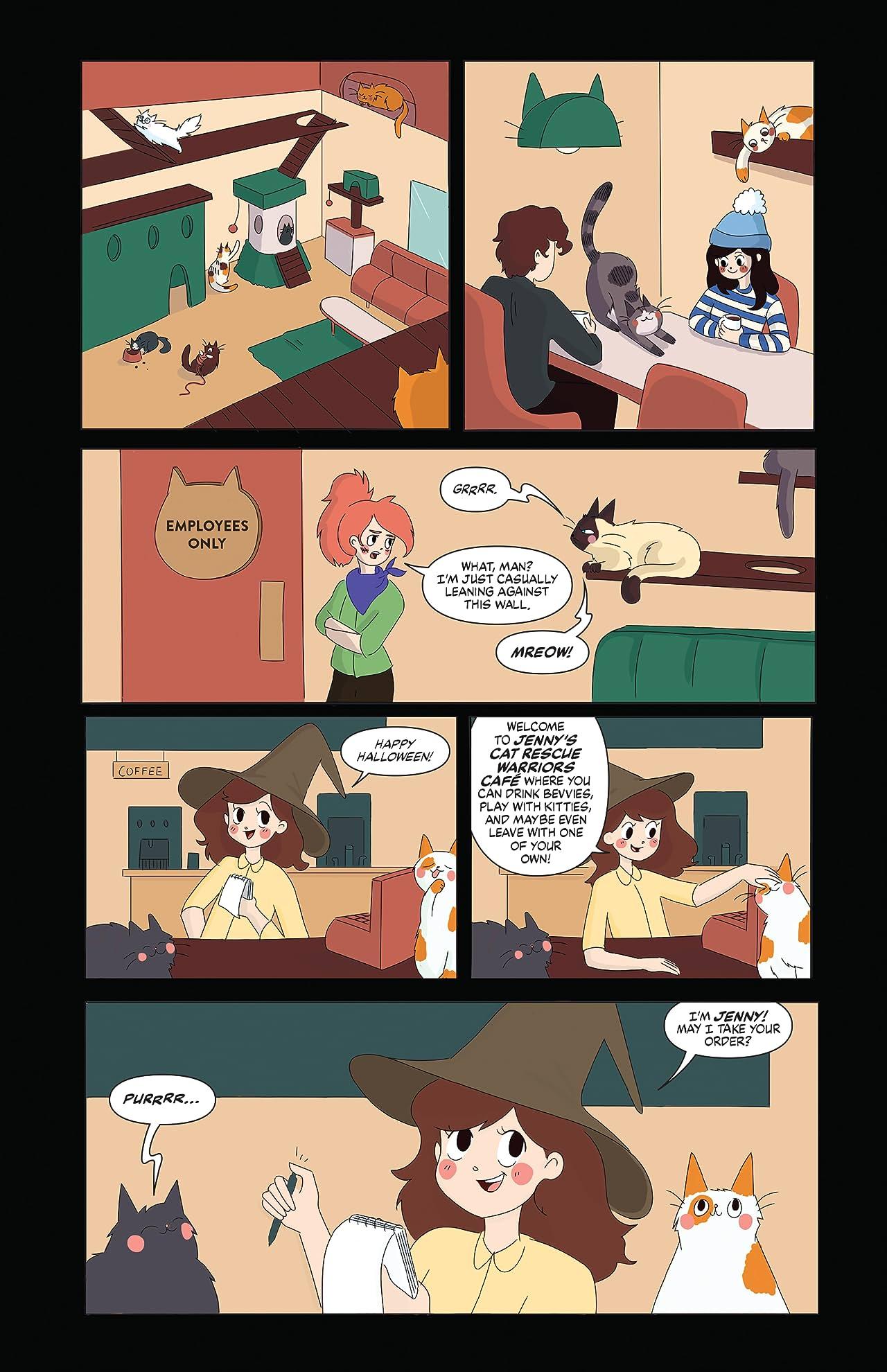 Spooky Girls: Jenny the Werecat No.1