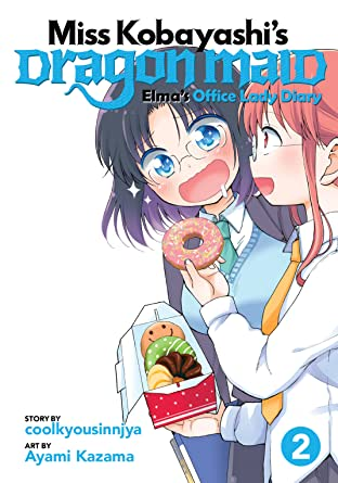 Miss Kobayashi's Dragon Maid: Elma's Office Lady Diary Tome 2