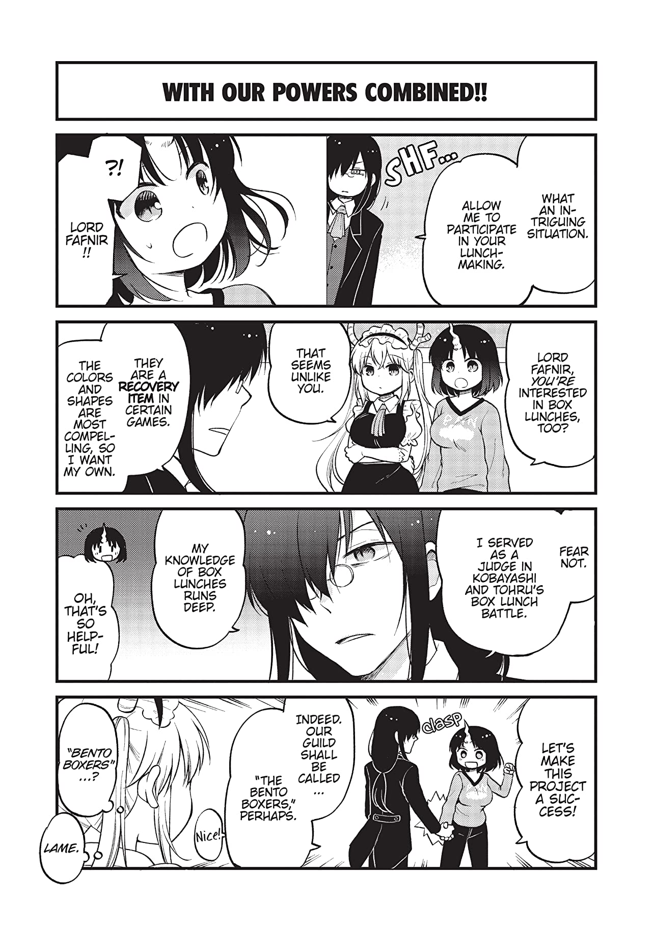 Miss Kobayashi's Dragon Maid: Elma's Office Lady Diary Vol. 2